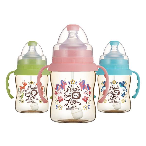 Simba小獅王辛巴 - 桃樂絲 - PPSU自動把手寬口葫蘆小奶瓶200ml