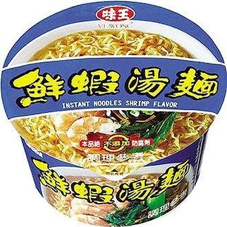 味王鮮蝦湯麵83g/碗【康鄰超市】