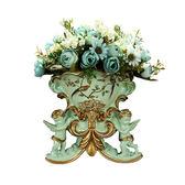 歐式壁掛花盆家居客廳壁飾花籃復古墻掛件工藝品墻飾插花藝裝飾品  巴黎街頭