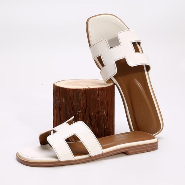 涼拖鞋女夏時尚外穿一字拖鞋