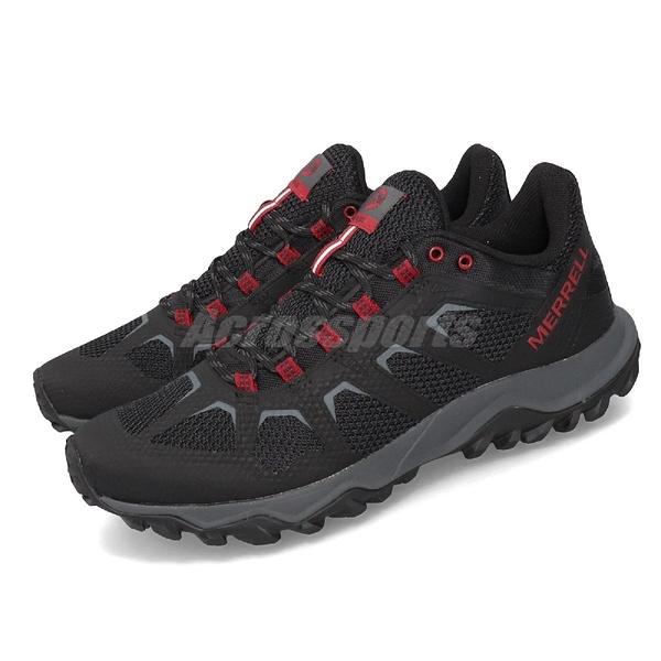 Merrell 戶外鞋 Fiery 黑 紅 男鞋 運動鞋 越野 【PUMP306】 ML99619