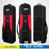 高爾夫航空包可折加厚帶滑輪便攜球包套 JH2357『男人範』
