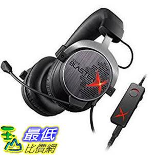 [106 東京直購] Creative SBX-H7 電競遊戲耳機 Sound BlasterX H7 USB & analog gaming headset