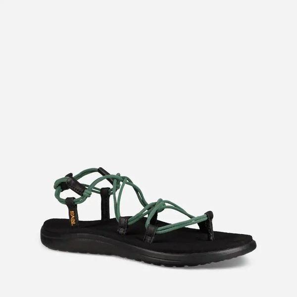 TEVA VOYA INFINITY 織帶羅馬涼鞋 - 墨綠 1019622HGN