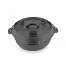 【速捷戶外】PETROMAX  FT3-T  鑄鐵荷蘭鍋8吋(平底), 荷蘭鍋,鑄鐵鍋