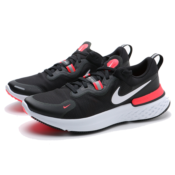 NIKE 慢跑鞋 REACT MILER 黑紅 襪套 輕量 休閒 男 (布魯克林) CW1777-001