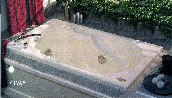 【麗室衛浴】美國第一大廠JACUZZI按摩浴缸150*90豪宅標準配備工程結案特價出清100%美國原廠