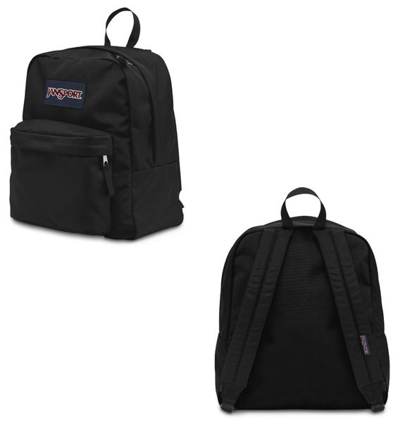 【橘子包包館】JANSPORT 後背包 SPRING BREAK JS-43911 黑色