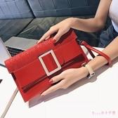 小包包2019新款潮單肩斜挎手包韓版個性時尚百搭氣質手拿包女 XN8594【Rose中大尺碼】