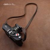 cam-in手工牛皮數碼微單相機背帶 肩帶  索尼徠卡富士  極客玩家