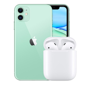 【下殺95折】iPhone 11 128G+AirPods【限量1+1組合】