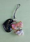 【震撼精品百貨】Little Twin Stars KiKi&LaLa 雙子星小天使~手機吊飾_愛心_黑