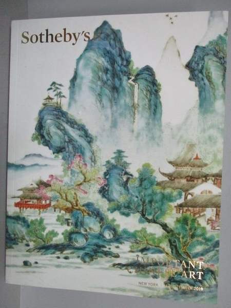 【書寶二手書T3/收藏_E2L】Sotheby s_Important Chinese Art_2019/9/11