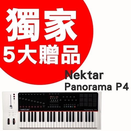midi鍵盤 ► Nektar Panorama P4 49鍵主控鍵盤【贈耳機等五大贈品】