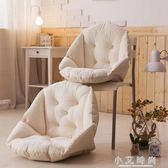 椅墊坐墊靠墊一體辦公室護腰靠背板凳電腦餐椅子籐椅連身墊子 小艾時尚.NMS