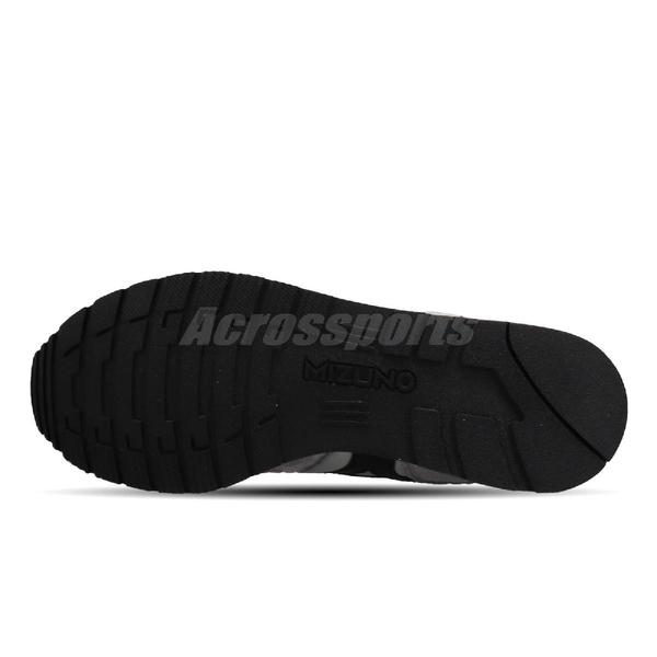 Mizuno 休閒鞋 ML87 灰 黑 男鞋 運動鞋 復古慢跑鞋 【ACS】 D1GA1905-06
