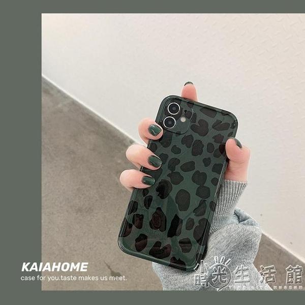 蘋果手機殼kaia ins復古豹紋秋冬適用iphone12promax蘋果11手機殼iphonexs max 3C優購