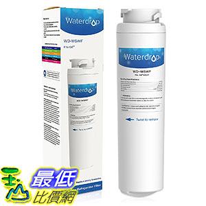 [106美國直購] Waterdrop MSWF Replacement for GE MSWF Refrigerator Water Filter