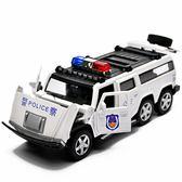 120救護車合金110警車小汽車車模男孩模型特警玩具車