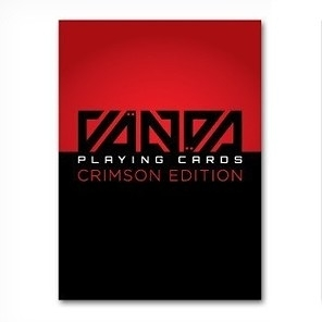 【USPCC 撲克】VANDA crimson PLAYING CARDS-深紅色 絕版