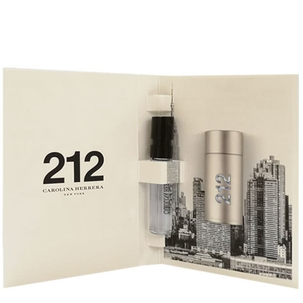 Carolina Herrera 212 MEN 都會男性淡香水 1.5ml 針管  (19729)【娜娜香水美妝】