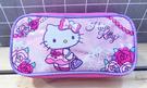 【震撼精品百貨】Hello Kitty 凱蒂貓~Hello Kitty日本SANRIO三麗鷗KITTY化妝包/筆袋-玫瑰*10773