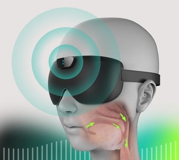 SNORE CIRCLE 智能止鼾眼罩 (現貨) 智慧穿戴裝置 睡眠監控管理 強強滾