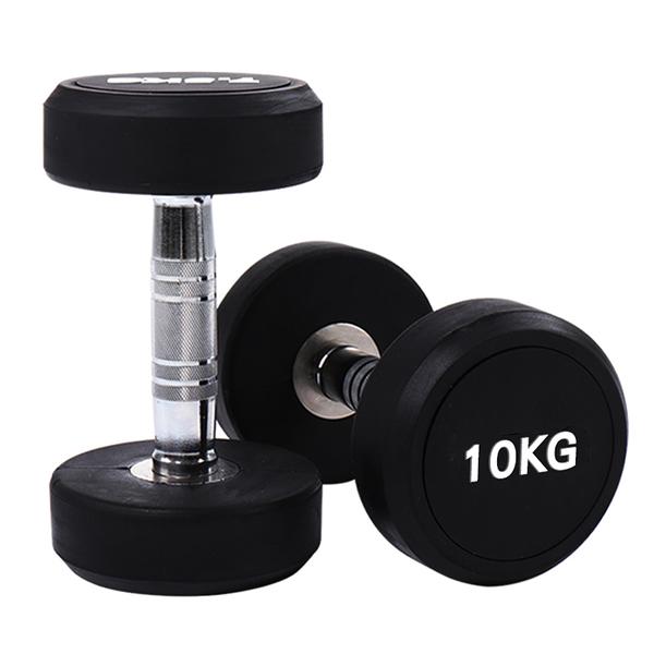 圓頭啞鈴『10KG』(單支) 20-20013 運動.瘦腰提臀.瑜珈.健身.力量訓練.輕巧便攜.健身塑形