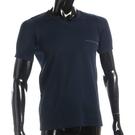 BURBERRY輕著V領貼身透氣上衣(深藍色)085183-4