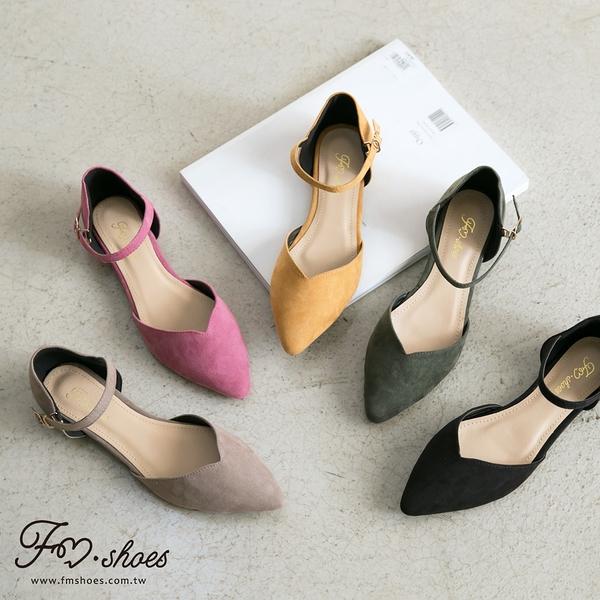 包鞋.公主系鞋面V切口踝帶瑪莉珍-FM時尚美鞋.Sandals