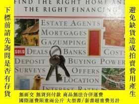 二手書博民逛書店32開英文原版罕見buying a home : Find th