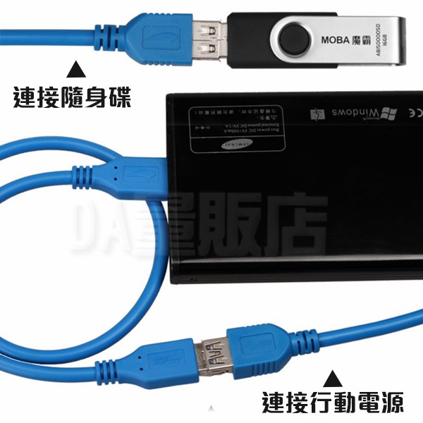 USB3.0 延長線 1.5m 公轉母 傳輸線 轉換線 數據加長線 可傳輸資料 延伸(79-2118)