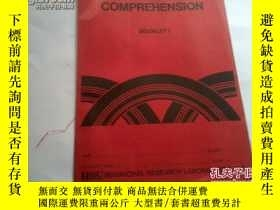 二手書博民逛書店《READINESS罕見IN COMPREHENSION BOO