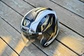M2R安全帽,CF1,碳纖維版,碳纖#1/白金