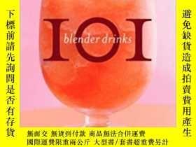 二手書博民逛書店101罕見Blender Drinks 101 混合飲品Y210