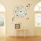 鐘表掛鐘客廳藝術創意現代簡約家用個性時尚裝飾臥室靜音石英時鐘-享家生活館 IGO