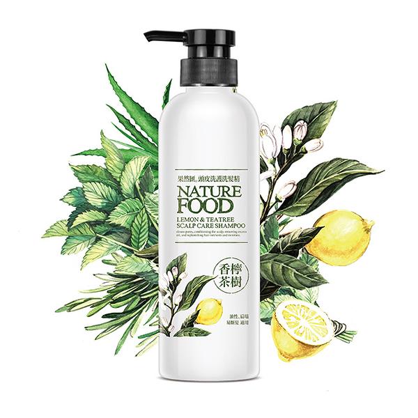 Natural Food 果然匯頭皮洗護洗髮精-香檸茶樹480ml