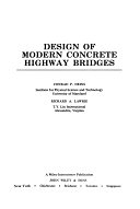 二手書博民逛書店 《Design of Modern Concrete Highway Bridges》 R2Y ISBN:0471875449│Wiley-Interscience