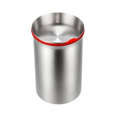 JVR 不銹鋼密封罐 (中/紅)
