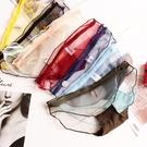 促銷 超薄透明蕾絲性感內褲女純棉檔網紗無痕透明誘惑鏤空低腰三角褲