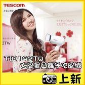 現貨 TESCOM  TID192 《台南-上新》大風量 負離子 吹風機 巴掌大小 攜帶型 折疊式 旅行 公司貨