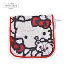 多功能收納方巾-三麗鷗Hello Kitty(方形)-玄衣美舖
