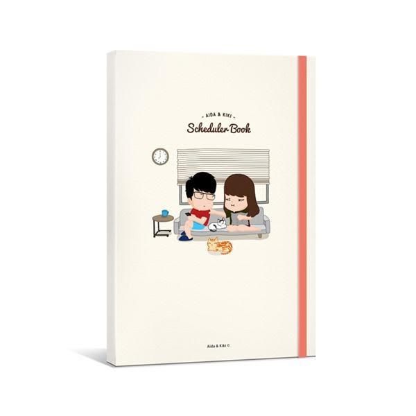 Aida & 綺綺 無時效日誌手帳(限量加贈 Aida手繪北高捷運路線圖)