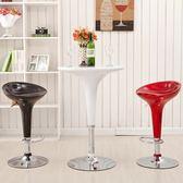 科潤 高腳前台椅子靠背吧台椅家用歐式吧椅現代吧凳升降酒吧凳子JY【店慶八八折】