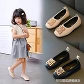 女童皮鞋春秋2019新款韓版兒童公主鞋軟底小女孩單鞋舞蹈鞋豆豆鞋
