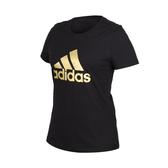 ADIDAS 女短袖T恤(慢跑 短袖上衣 愛迪達≡體院≡