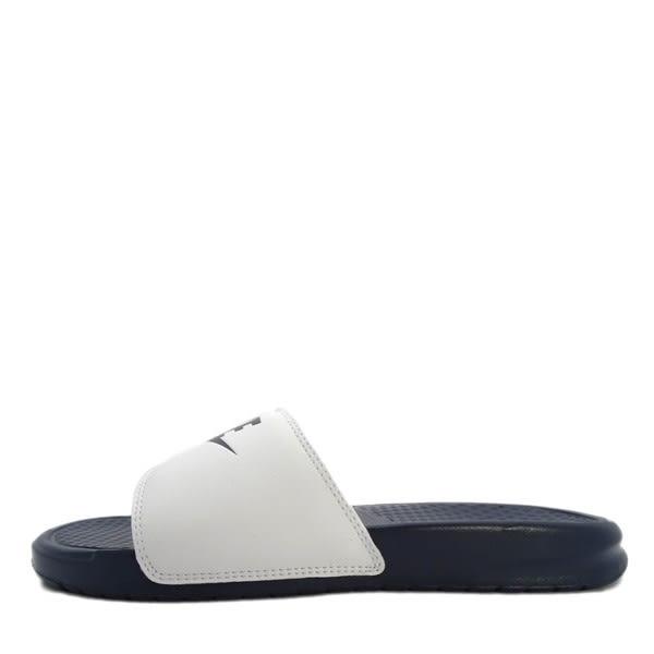 Nike Benassi JDI [818736-410] 男鞋 拖鞋 涼鞋 深藍 白