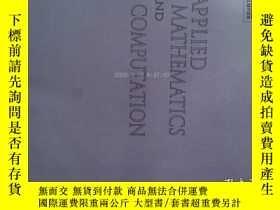 二手書博民逛書店Applied罕見Mathematics and Computation (Journal) 15 05 2017