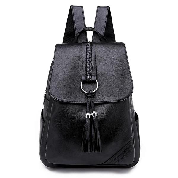 後背包 後背包女士2021新款韓版百搭小背包包軟皮休閒時尚旅行大容量書包 伊蘿