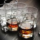 6只裝方形洋酒杯玻璃杯啤酒杯烈酒杯水杯 威士忌酒杯 年尾牙提前購